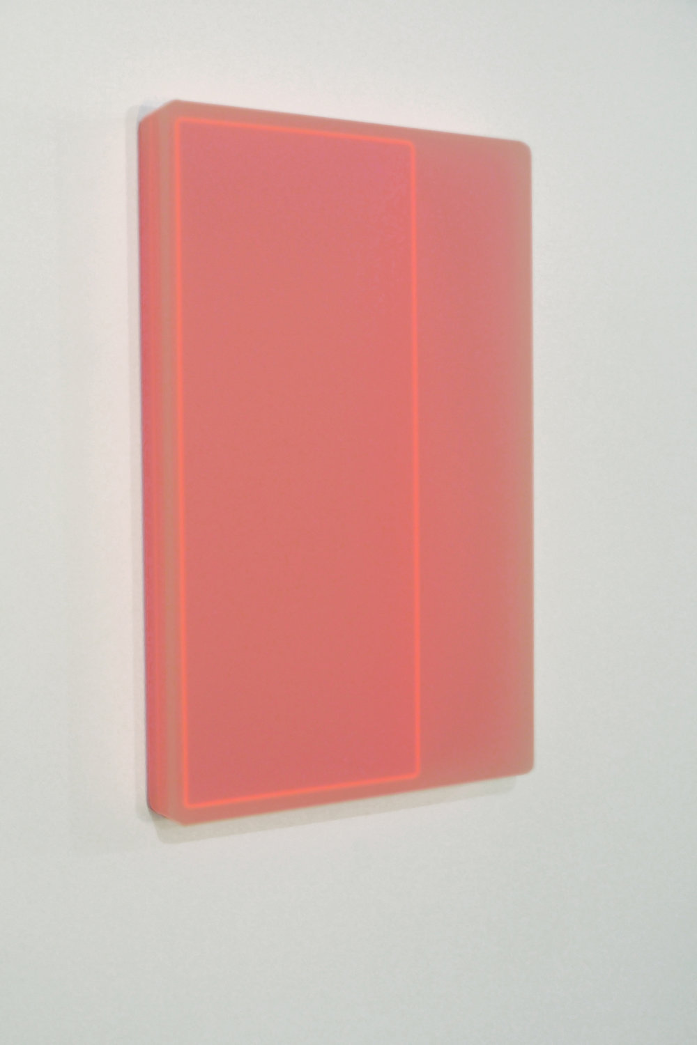 Karyn Taylor,  Looped Equation II,  2015, Perspex, 40 x 64 x 6.5cm