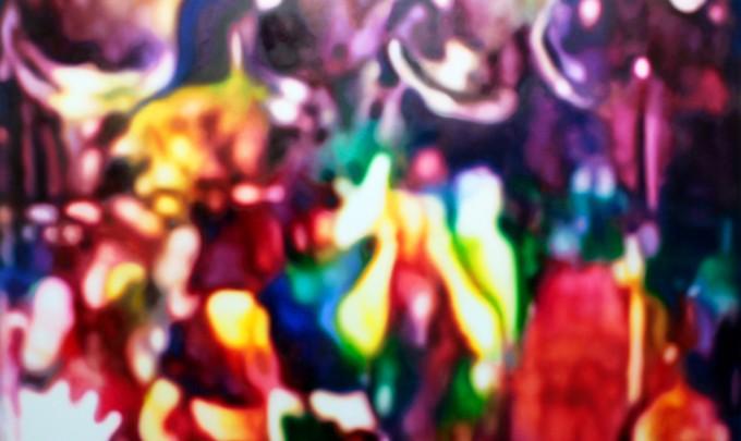 Stephen Giblett,Panic, 2012, oil on linen, 163 x 200cm