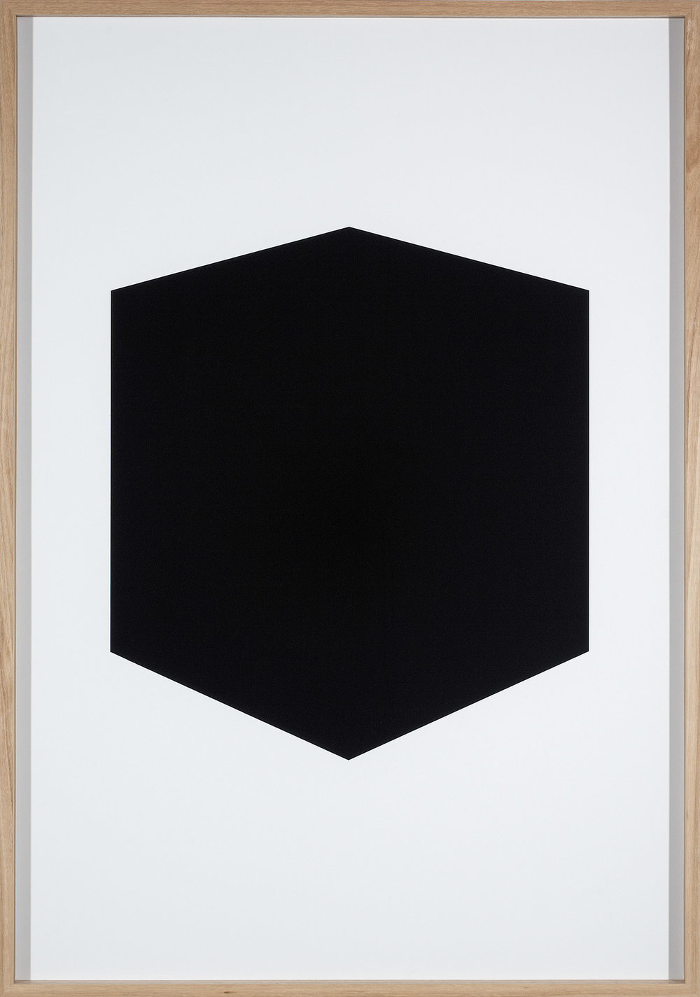Brad Haylock,  After Zero (white) , 2011, silkscreen print on paper, 100 x 70cm