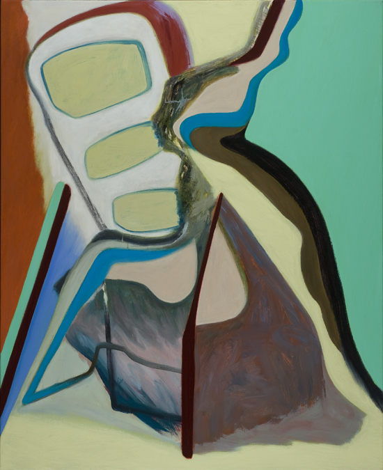 David Palliser,  When We Are,  2011, oil on canvas, 137 x 112cm