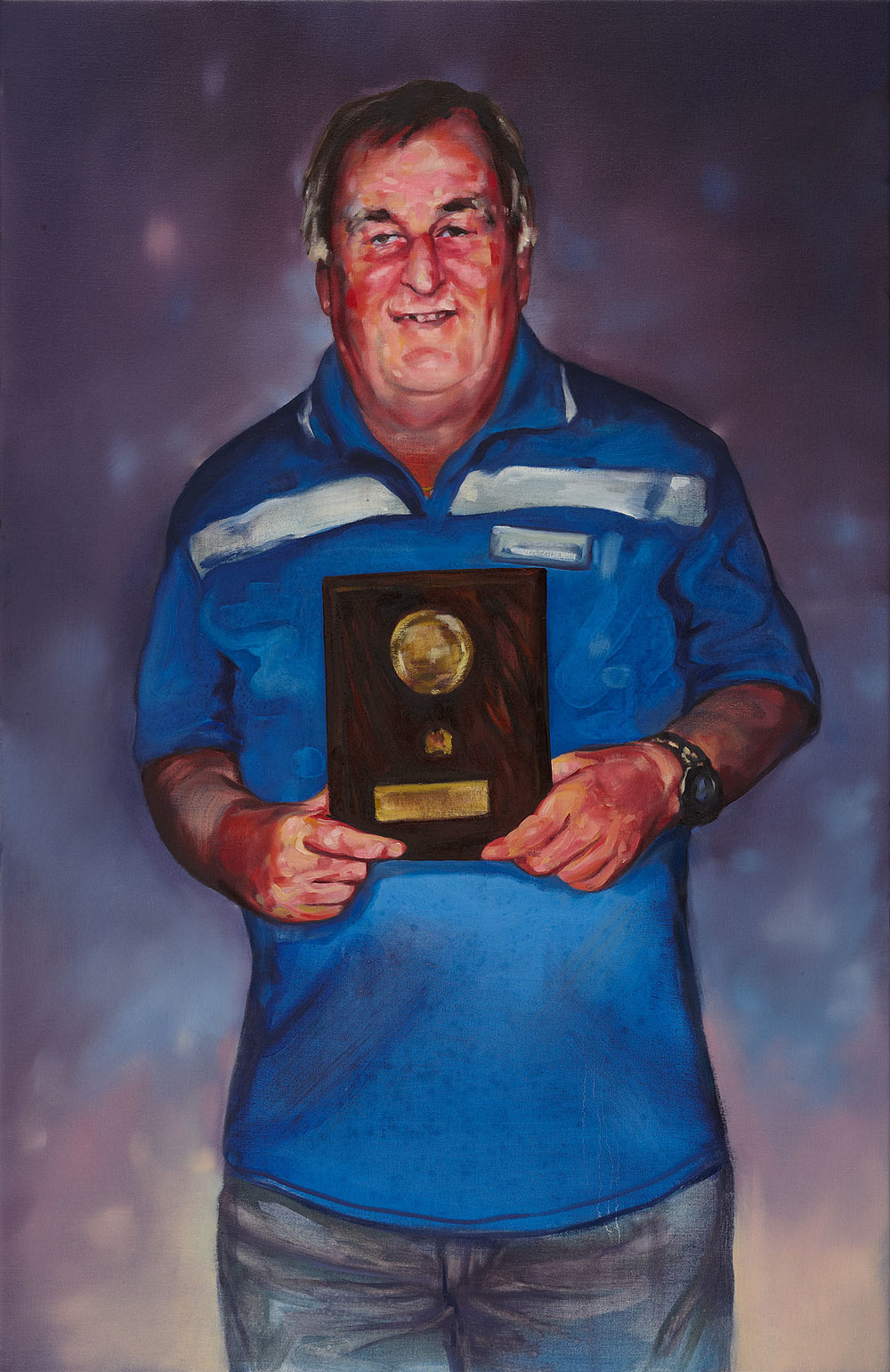 Christina Hayes,  Life Member , 2011, oil on linen, 102 x 66cm