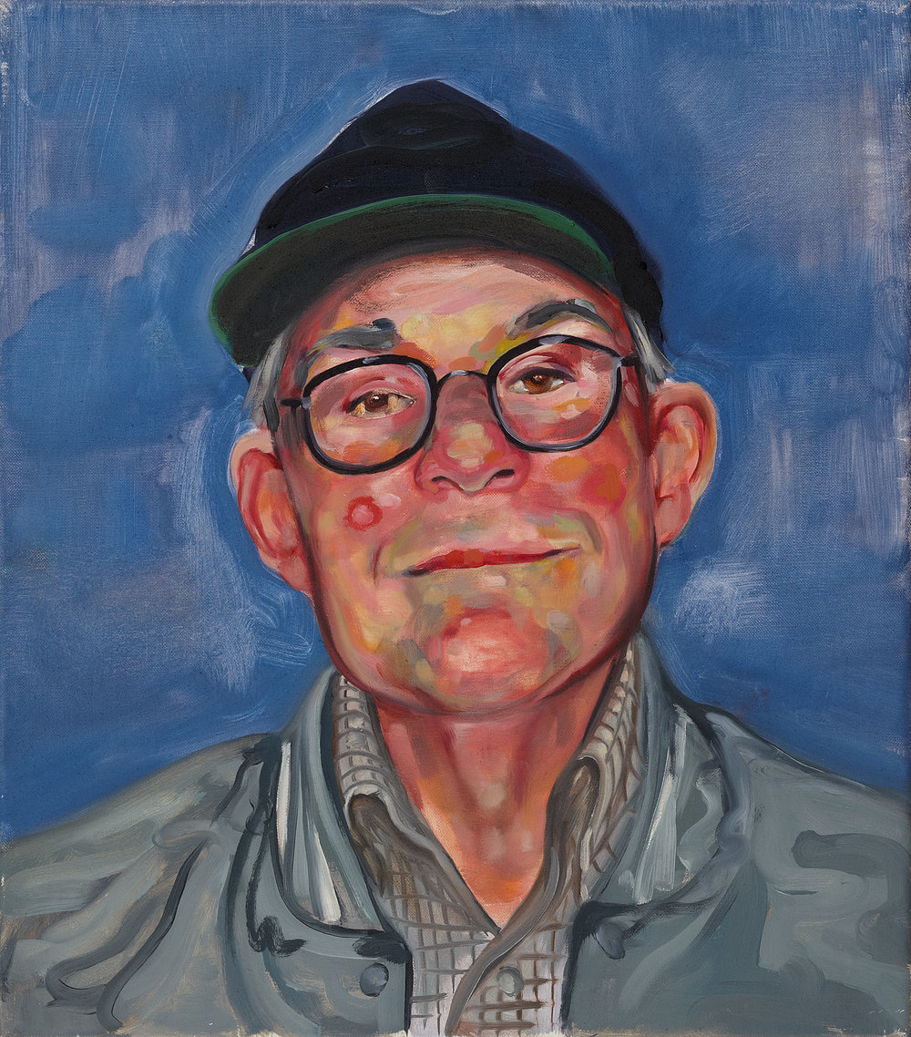 Christina Hayes,  Littleman , 2011, oil on linen, 41 x 36cm
