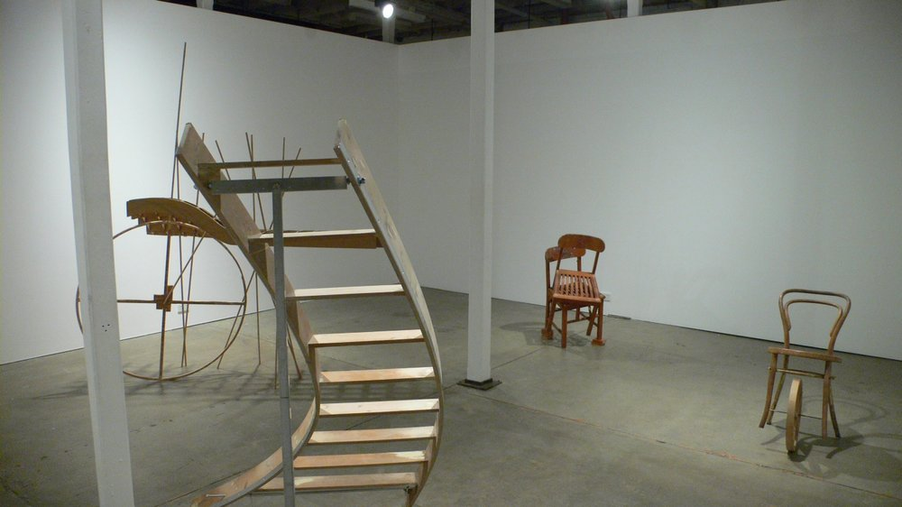 Johnnie Dady, An Uncertain Object, 2011, installation image
