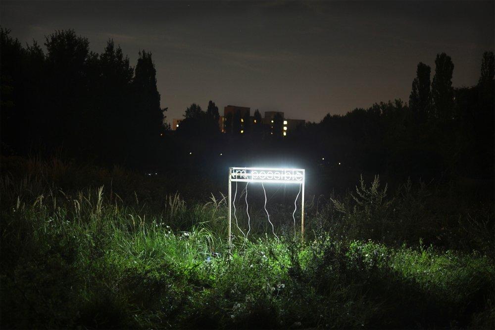 Michaela Gleave,  Alles ist moglich , 2010, lambda Print, 59 x 39cm