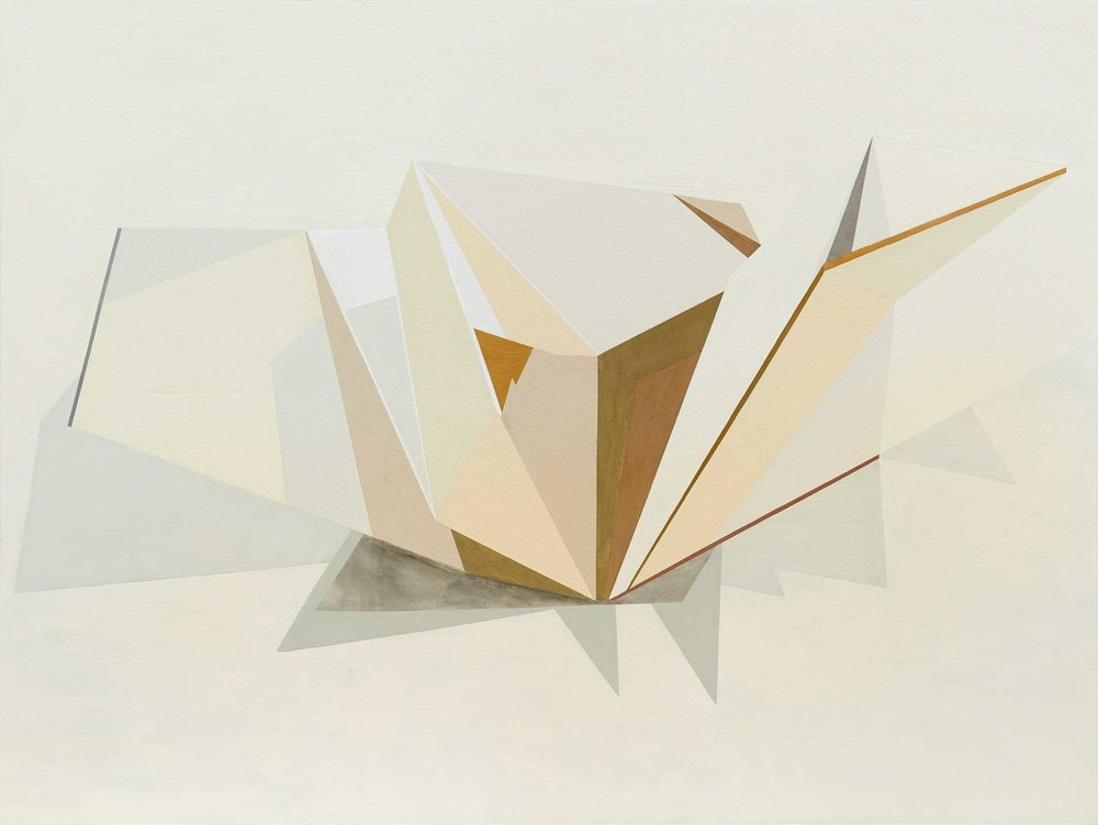 Andrea Eckersley, Untitiled (Gold), 2015. Oil on canvas, 200 x 150cm LR