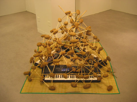 Dylan Martorell, Stolen Arcology, 2009, mixed media