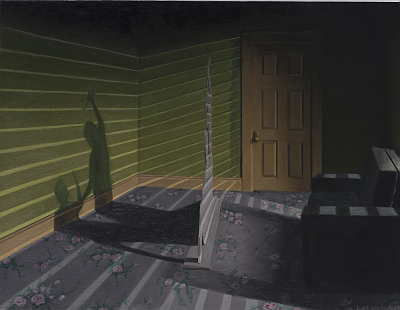 Luke Victory, The Insurance Business, 2008, oil on canvas, 71 x 91cm
