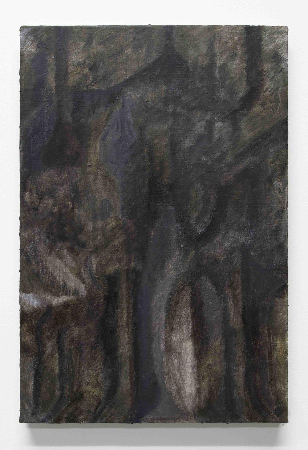 Tim Bučković, Atelier, 2017, oil on linen, 46 x 30.5 cm