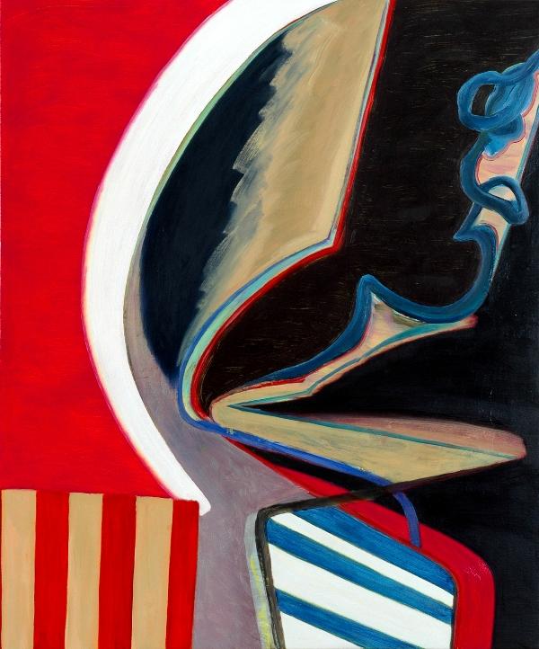 David Palliser, Swerve, 2008, 102 x 122cm