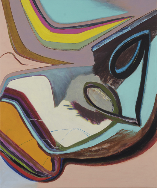 David Palliser, Above and Below Beyond, 2009, 102 x 122cm