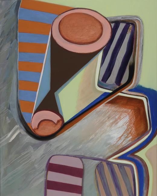 David Palliser, Mist Wagon, 2010, 153 x 122cm