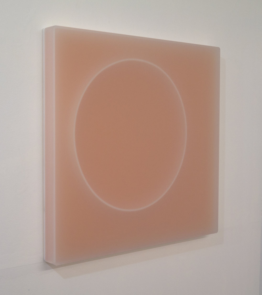 Karyn Taylor, Harmonic Solid, 2017, cast acrylic, 53 x 57 x 4.5cm, side view.jpg