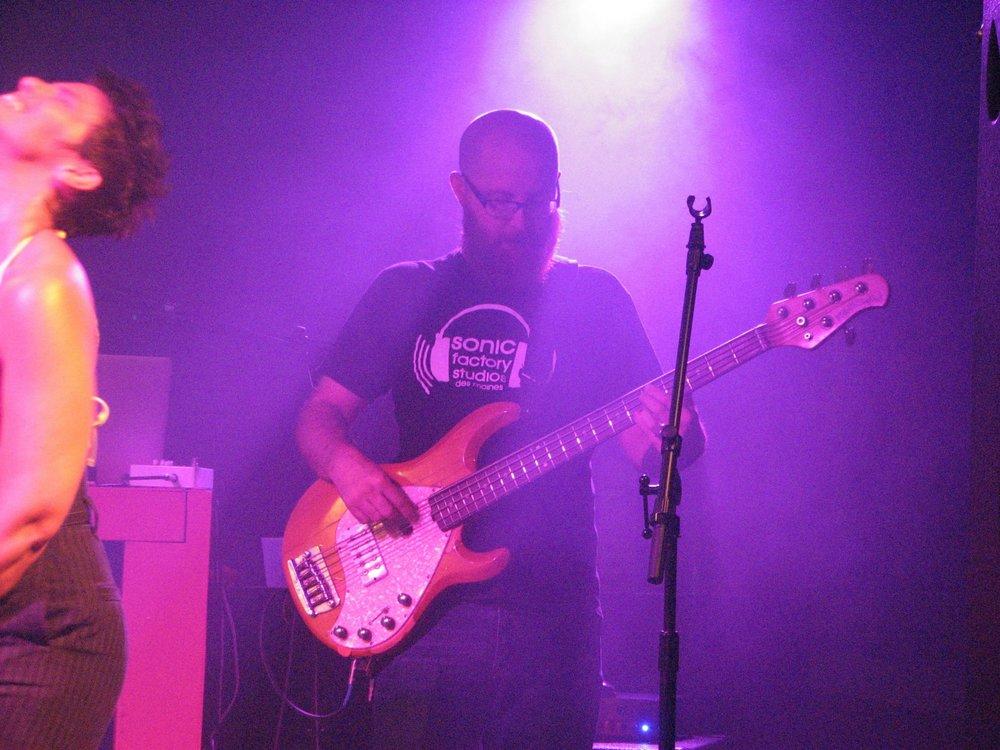 John Locker - Bass Guitar    Sonic Factory Studios