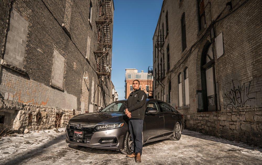 James Le and the 2018 Honda Accord