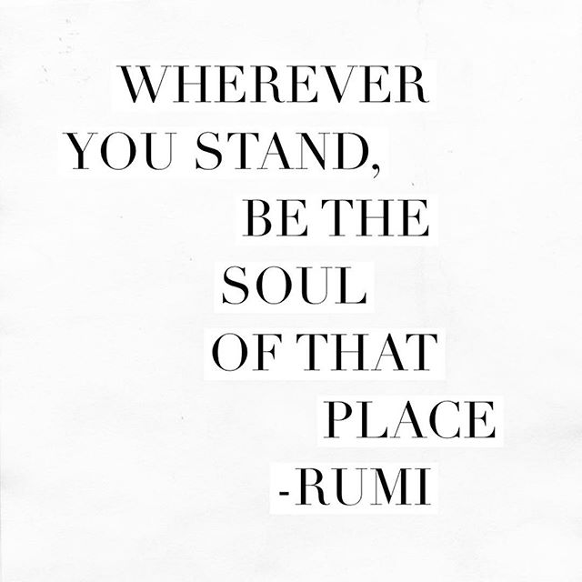 We are pretty obsessed with Rumi around here & this is one of our favorite quotes by him.  While traveling, it's so important to not just see 1000 places, but to deeply feel & embody where you are. All our Caravan journeys are intentionally designed in this way -- so that you can discover your outer & inner world ✨