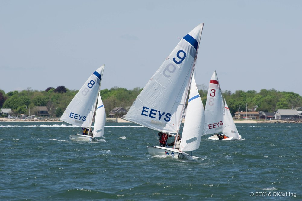 Race practice on Cutchogue Harbor, NY