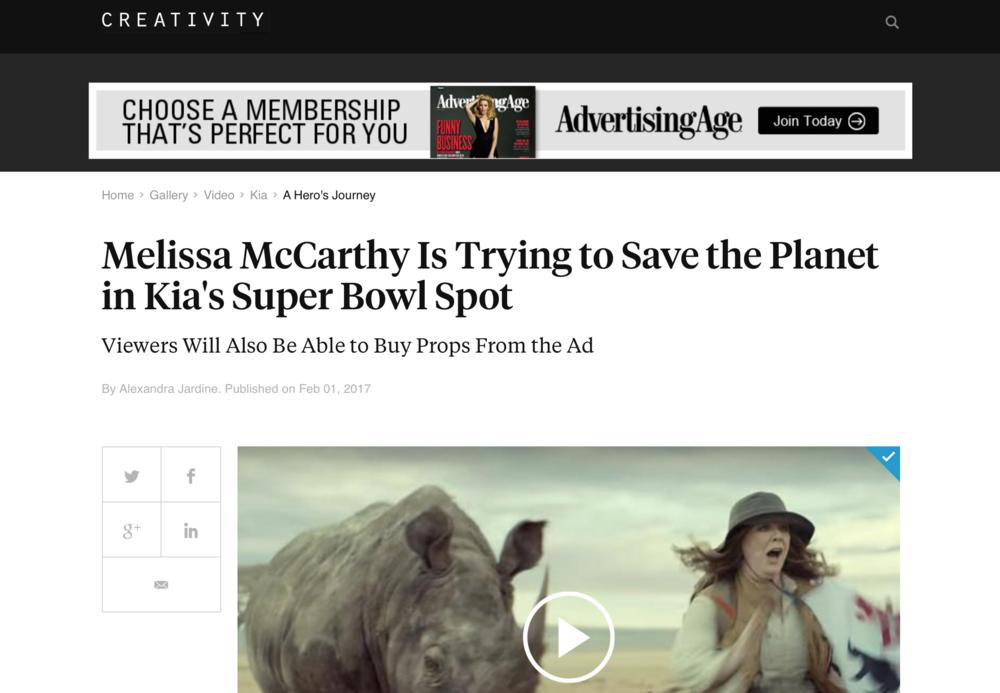 Creativity 'Kia: A Hero's Journey'
