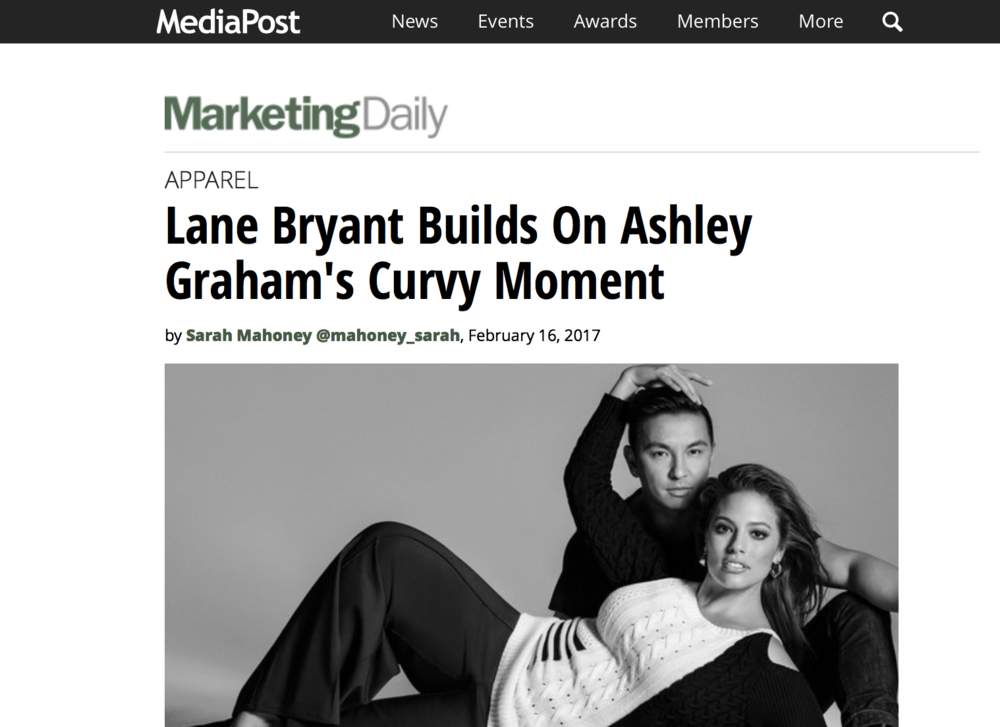 Marketing Daily 'Lane Bryant'