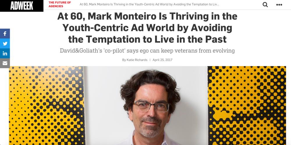 Adweek: D&G's Mark Monteiro