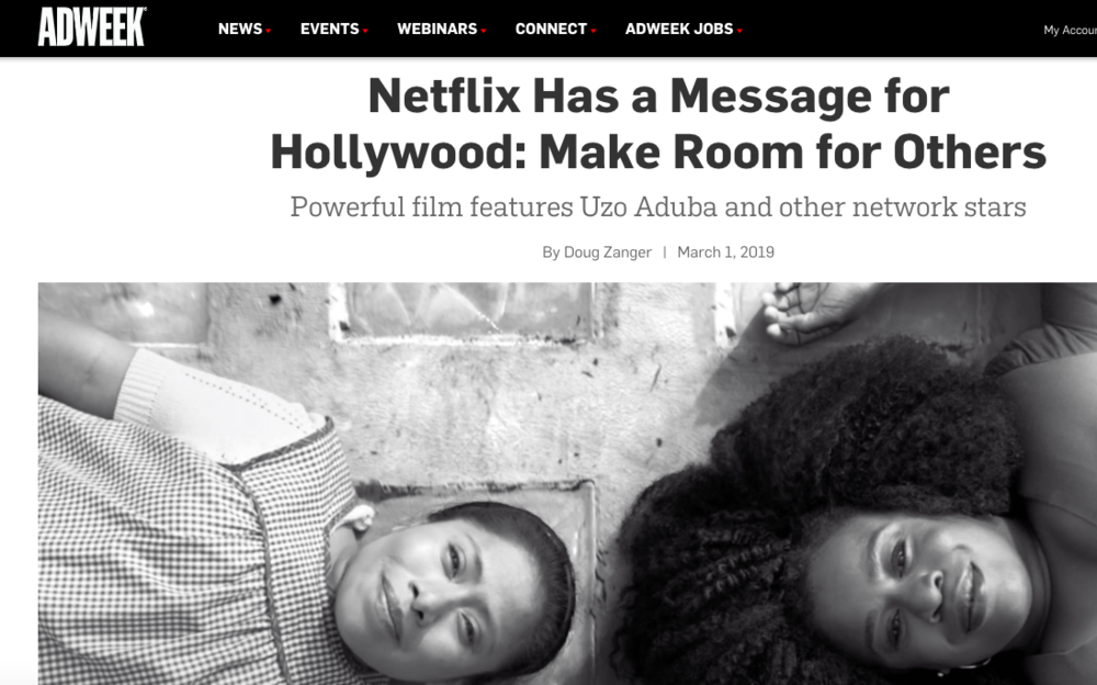 """Netflix """"Make Room"""" Campaign by Red & Co."""