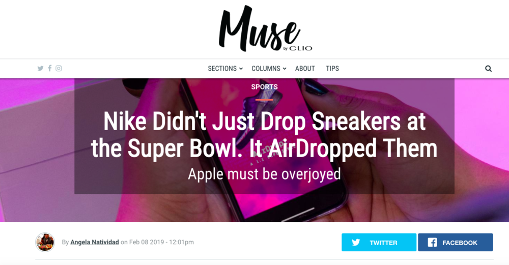 Nike AirDrop1 by AnalogFolk