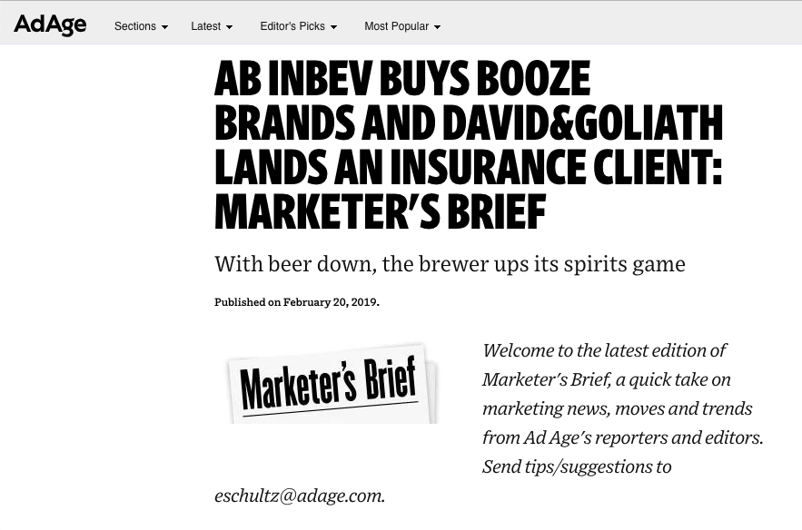 Ad Age: D&G Lands Auto-Owners Insurance