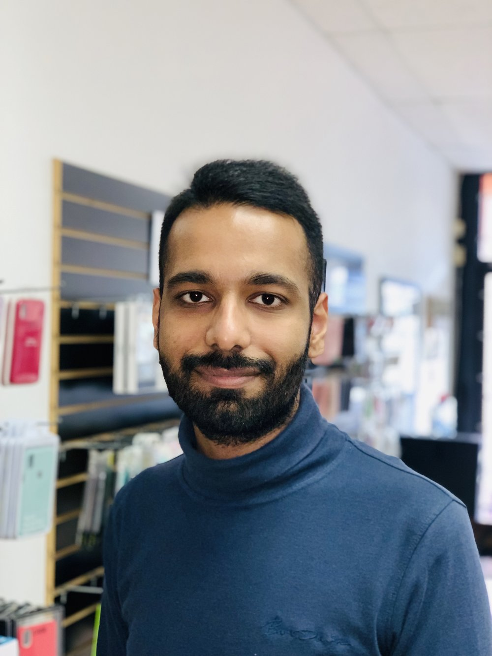 Neil Thapar - Neil is a new addition to the All About Tech team. His welcoming smile and upbeat attitude are what customers gravitate to. Neil has both him iOS and Mac certification and has years of experience fixing both software and hardware problems on Macs and iOS devices.