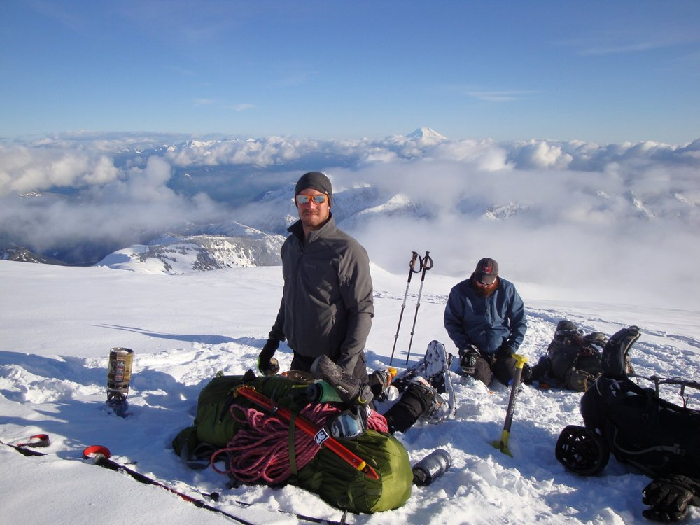 Prior training on Mt. Rainier