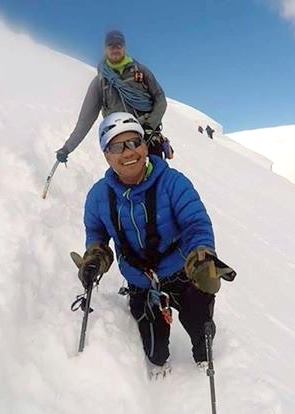 Hari on Mt. Blanc.JPG