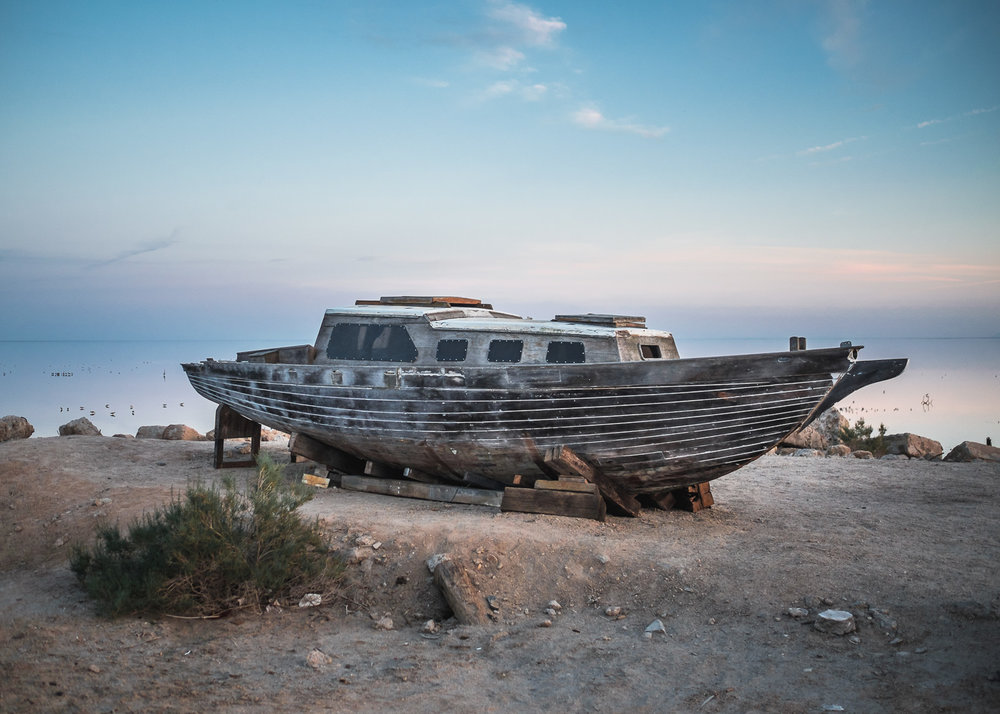 Shipwreck, Salton Sea