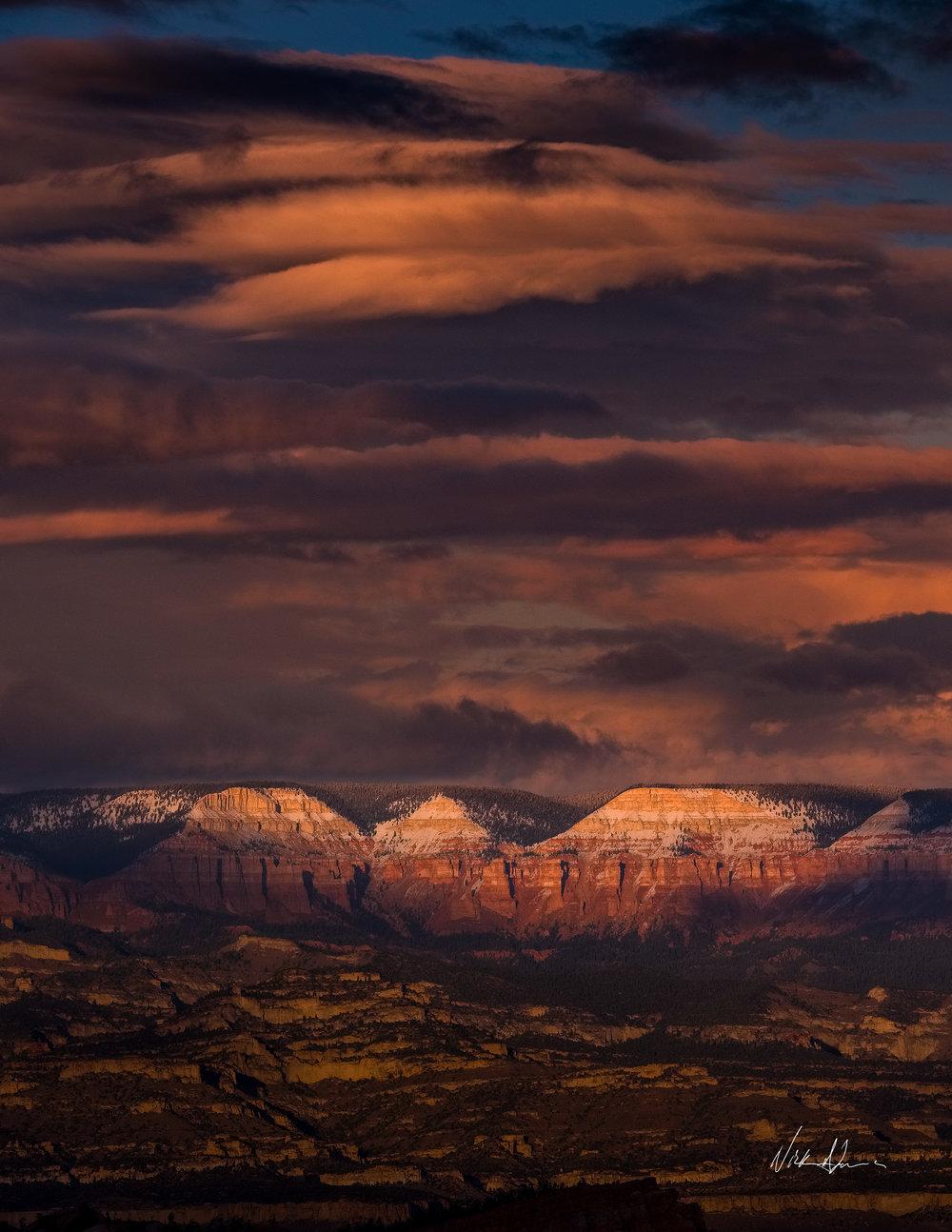 BRYCE CANYON SUNSET Bryce Canyon, UT (2018)