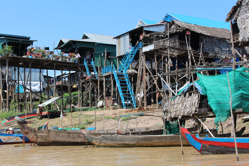 Floating Villages - Lake Tonle Sap, Cambodia