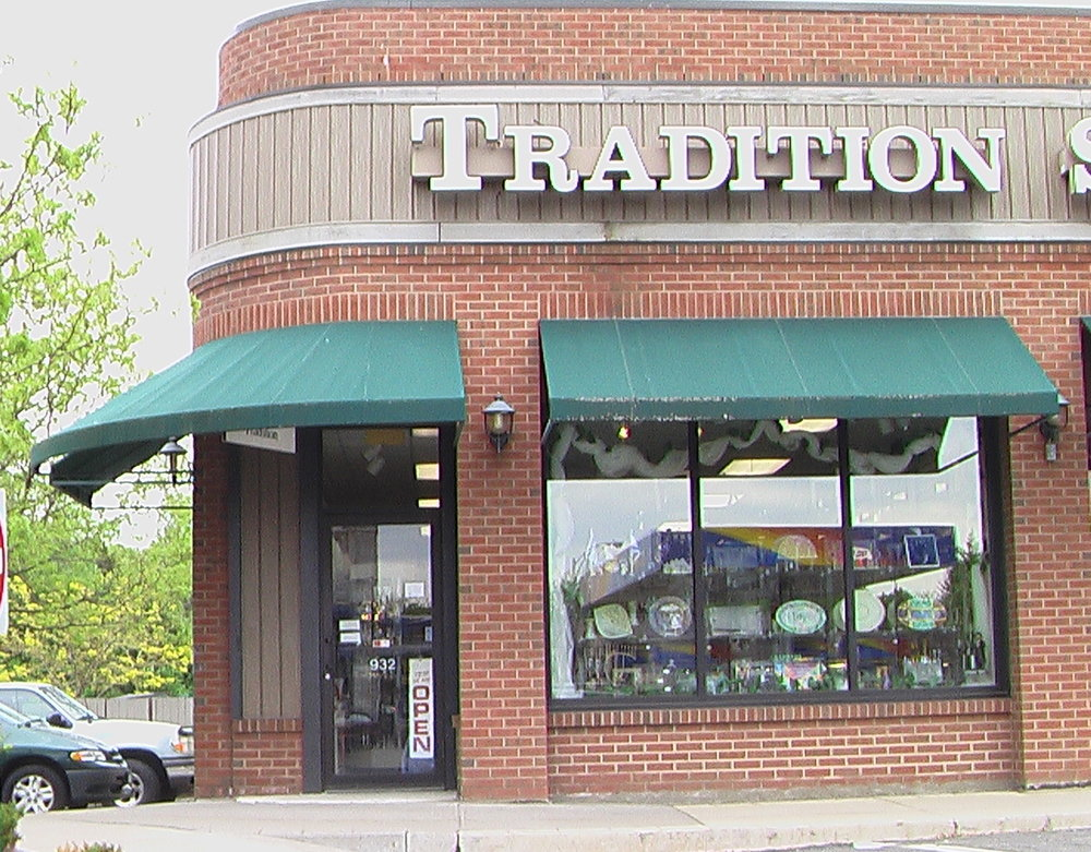 Tradition's 2nd storefront, at the Twelve Corners Plaza.