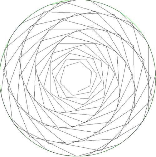 Computer-Generated Circular Art — Branching Out Wood