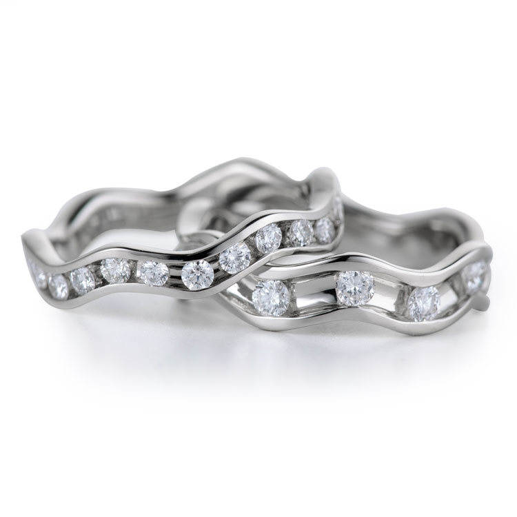 Wave Diamond Stacking Bands