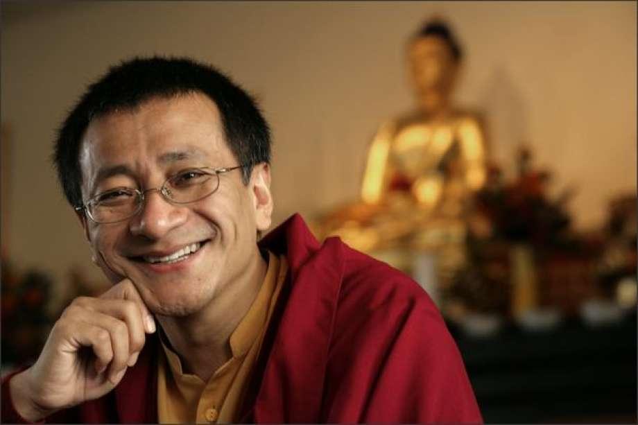 Dzogchen Ponlop Rinpoché. fotografía : Meryl Schenker/Seattle