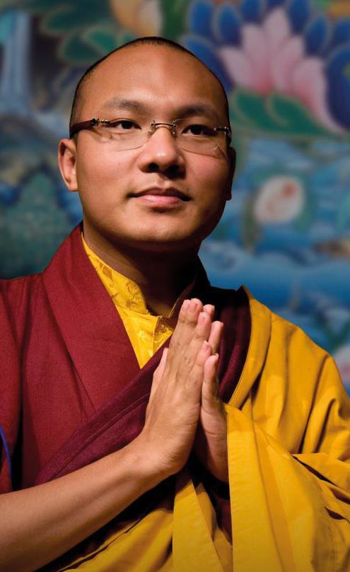 el xvii Karmapa, Ogyen Trinley Dorje.