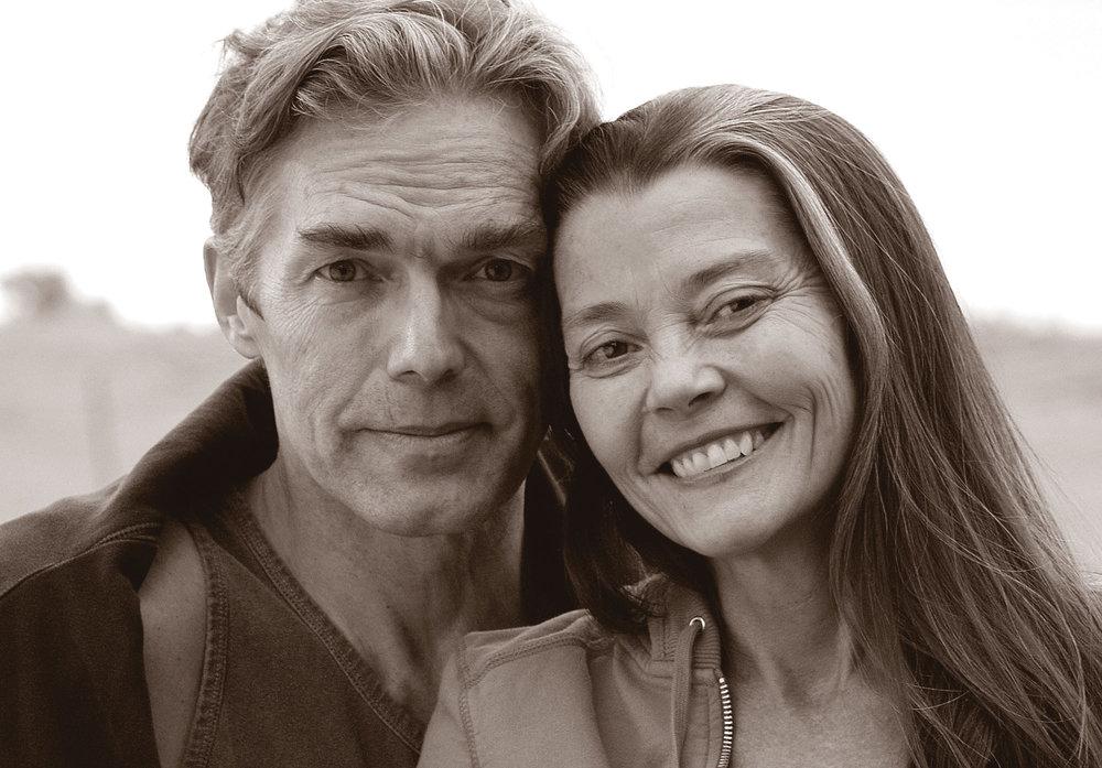 Richard Freeman   y   Mary Taylor  , autores de   El arte del Vinyasa  .