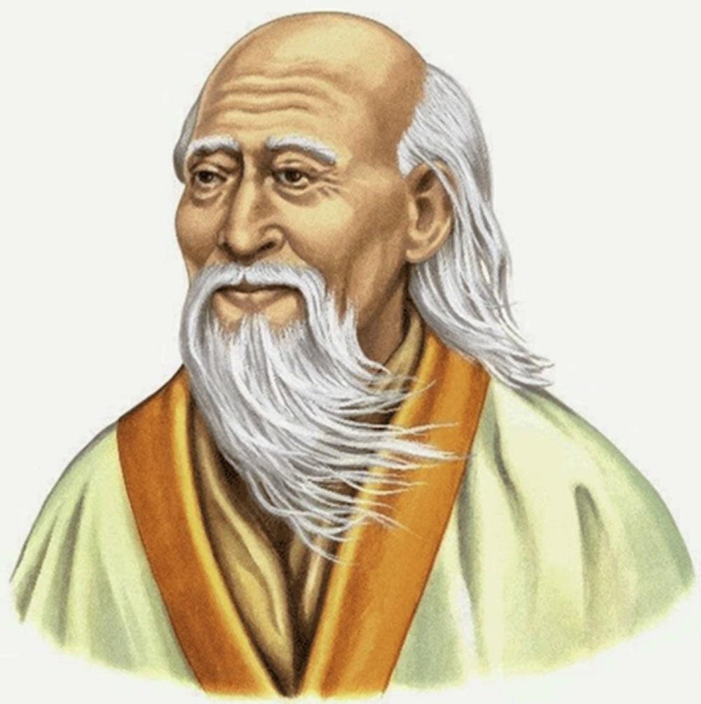 Ilustración clásica de Lao-Tsé.