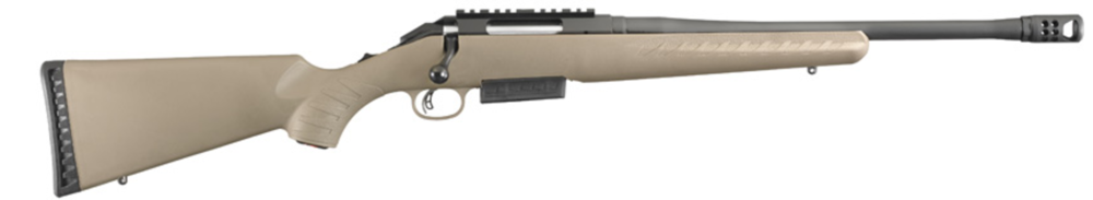 Ruger American chambered in 450 Bushmaster.