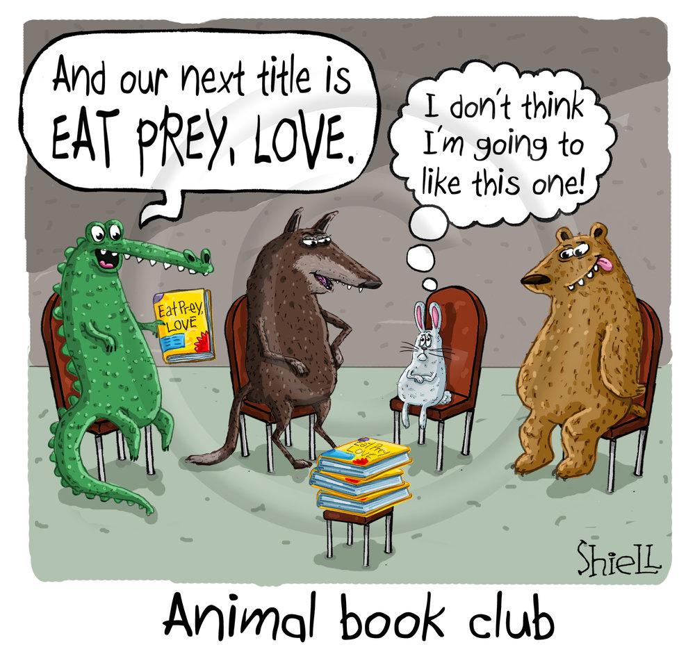 Animal Book Club.