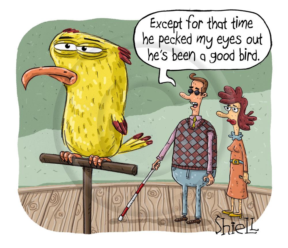 Good bird.