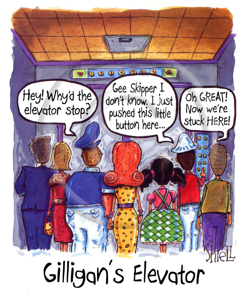 Gilligan's Elevator.