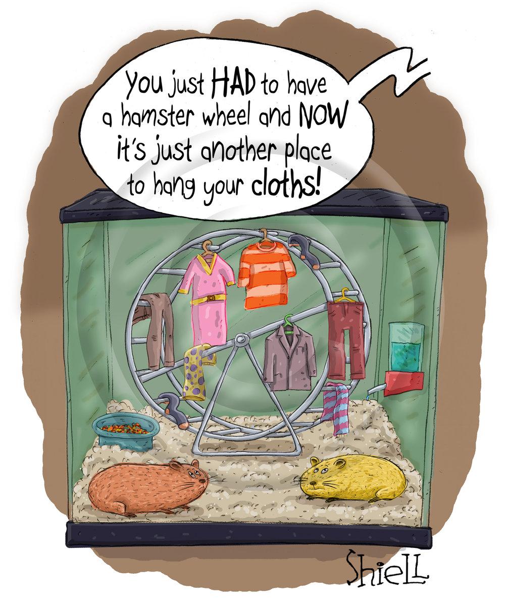 Hamster Wheel.