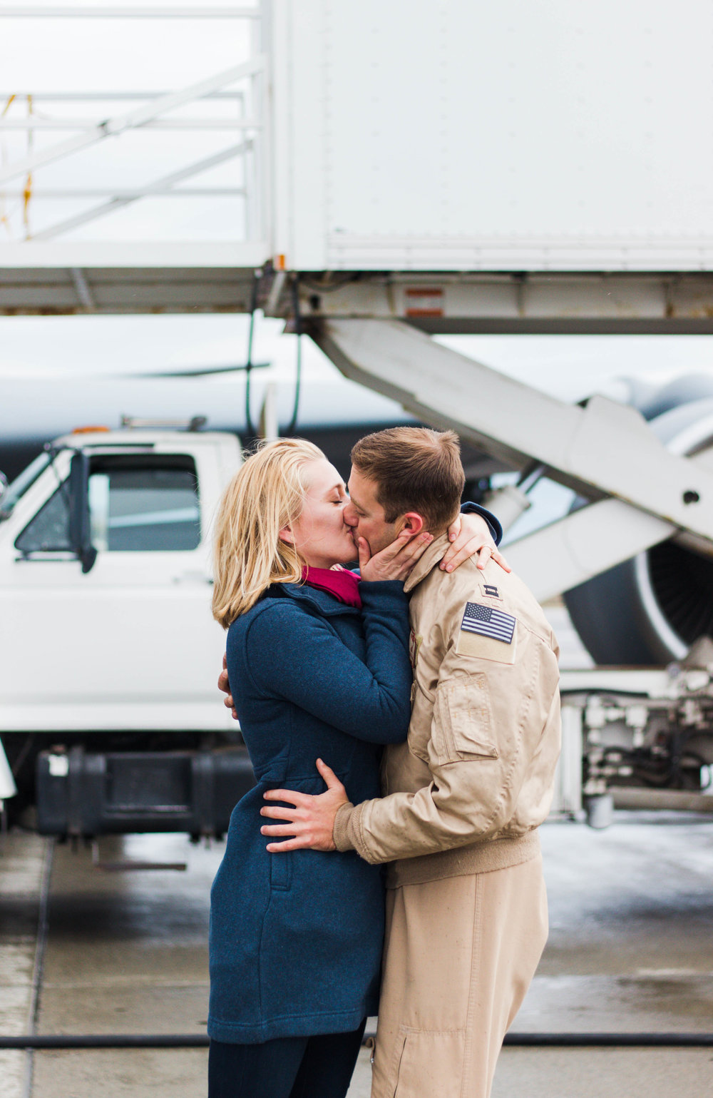 military couple photo