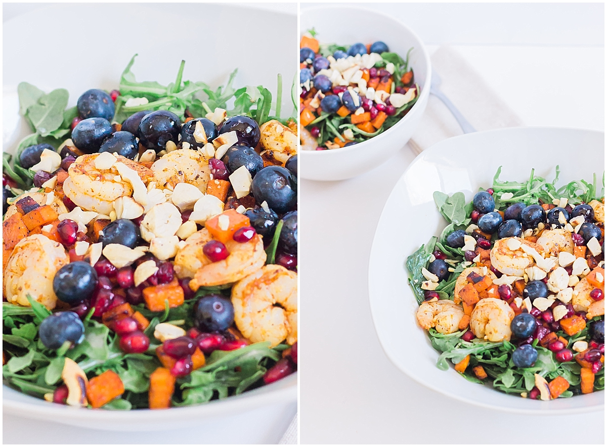 Arugula Salad with Shrimp