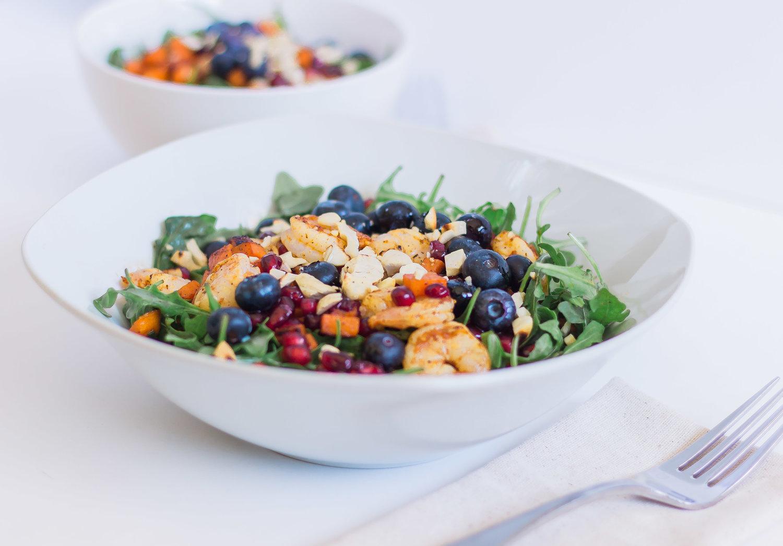 Shrimp Arugula Salad