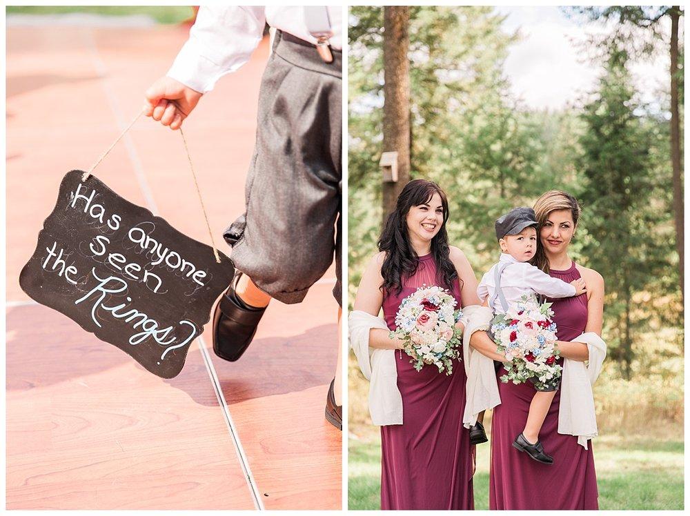 wedding ceremony detail