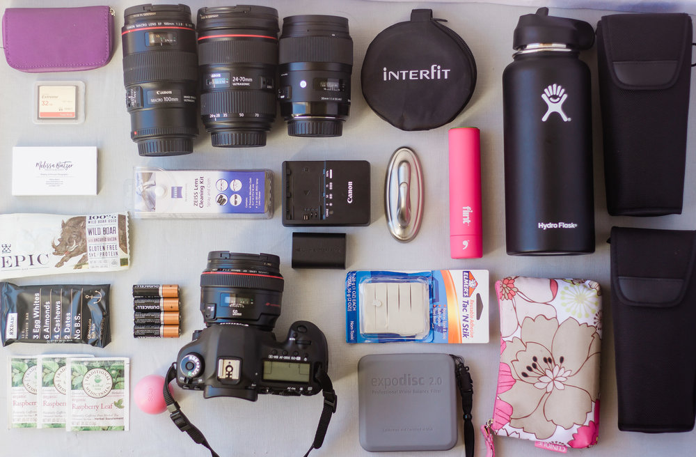 Inside my Camera bag