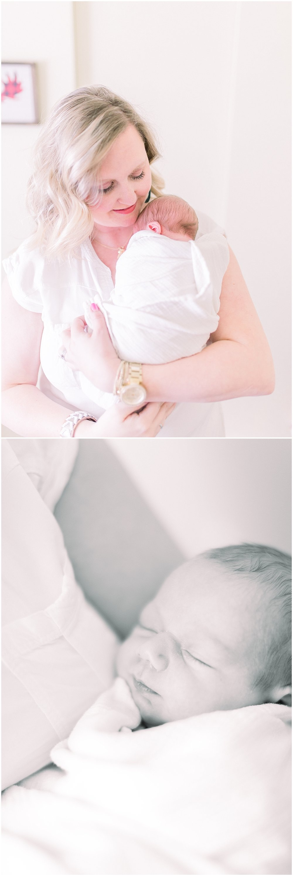Philly Newborn Photographer Lifestyle newborn
